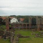 view over the priory
