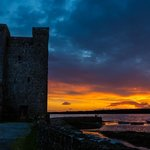 Sunset at Oranmore Castle