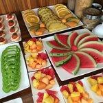 Fresh fruit and bites