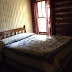 Bedroom 2, 4 bed log cabin