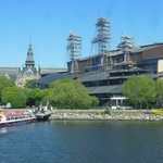 The design of the Vasa Museum is outstanding