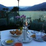 Mistral restaurant - view