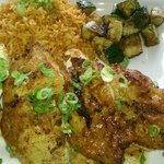 African Portuguese Chicken with Moroccan Rice.