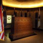 The Lincoln Arkansas stone