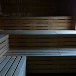 Fitness center - Wide sauna