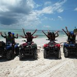 ATV's  on the Beach