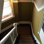 Escaleras entre pisos