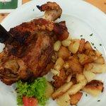 Grilled porc
