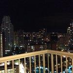 Vista nocturna desde la planta 14