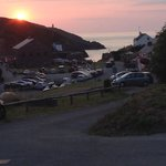 Sunset over porthgain