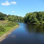 Concord River at the North Bridge 8/8/2014