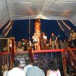 show dos piratas