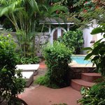 Our back garden (Sugar Mill room)