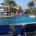 Cala Bona, by the Pool