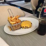 Beef Burger without the Bun curtesy JWM Cannes