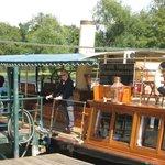 Boarding the SL Streatley at Runnymede