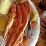 1/2 & 1/2 Plate at The Crab Shack
