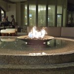 Fire Pit at the outdoor bar