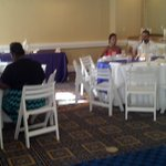 We had our wedding reception at the Sheraton Suites with Kasey and her crew..I was so happy on a