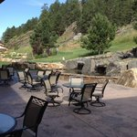 Patio - a great spot to enjoy your breakfast!