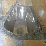 Bathtub inside Josephine Baker's home Le Vesinet. Spectacular