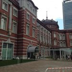 Entrance to the hotel from Tokyo Station