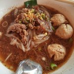 Great beef noodle soup.