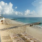 Boardwalks on beach