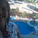 my balcony selfie