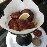 Fish and chips at Maui Brick Oven