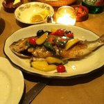 Beautifully prepared local fish