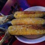Yummy fire roasted corns