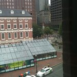 View of Faneuil Hall from room