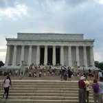 Lincoln Memorial By Day