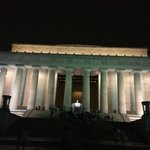 Lincoln Memorial By Night
