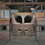 The old crematorium oven.