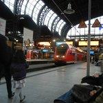 Hamburg Hauptbahnhof.