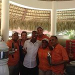 we had so much fun with this prefered pool staff...thanks for making our stay so fun!  Amazing t