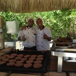 the grill chefs...excellent grilled chicken that we looked forward to every day for lunch on the
