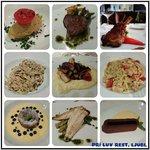 Food Collage in Pri-Luv restaurant