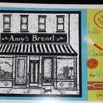 Postcard of bakery