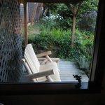 Tortuga room deck glider