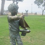 Statue at Lover's Point Area, Pacific Grove, Ca