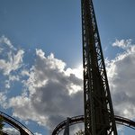 Some of the bigger rollercoasters