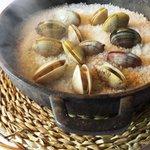 Almejas a la sal, de Cal Sisquet