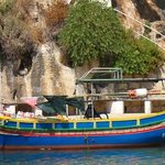 Gozo , strada per la Rambla