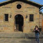 El edificio donde se encuentra el Museo en Guane