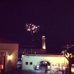 Dal balconcino del Faros Beach Hotel (rethymno)