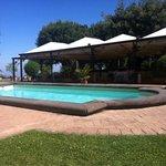 La piscina di villa tuscolana,favolosa