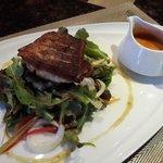 Crispy Sea Bass Salad